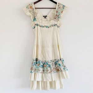 DKNY peasant dress